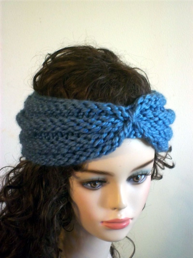 Free Knitting Pattern For Baby Blanket Easy : Knitted Turban Headband Patterns A Knitting Blog