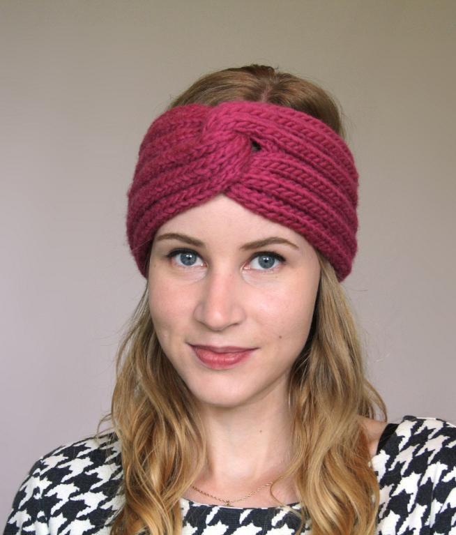 Knit Pattern For Headband : Knitted Turban Headband Patterns A Knitting Blog