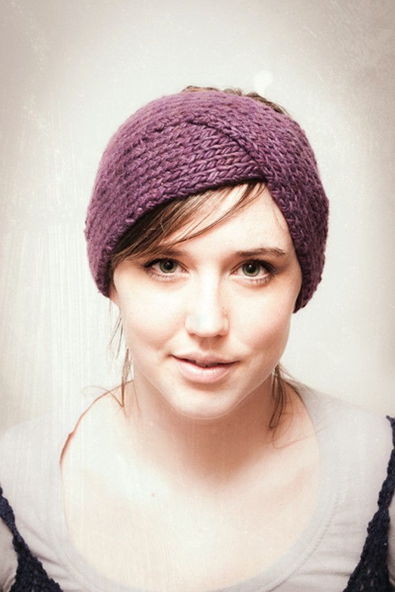 Knit Ear Warmer Pattern A Knitting Blog
