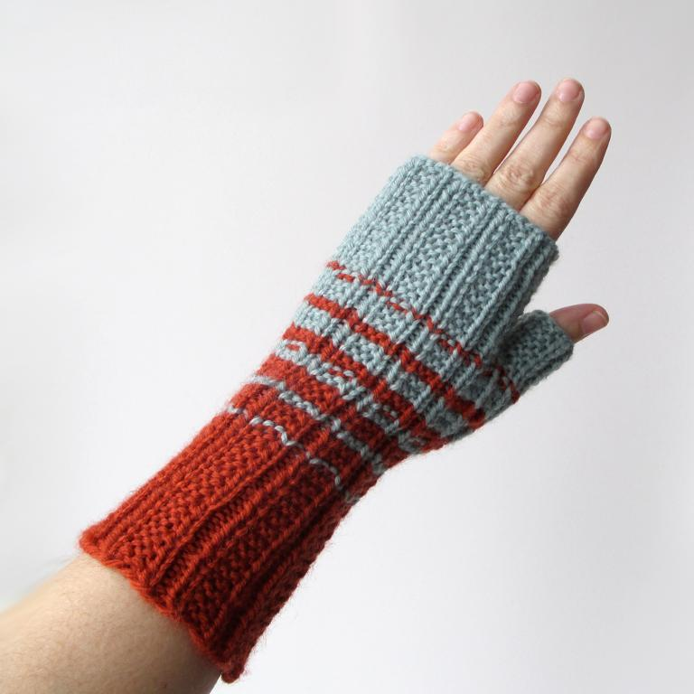 Knitting Pattern Of Gloves : Fingerless Gloves Knitting Pattern A Knitting Blog