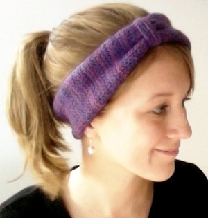 Knit Headband Ear Warmer Patterns A Knitting Blog