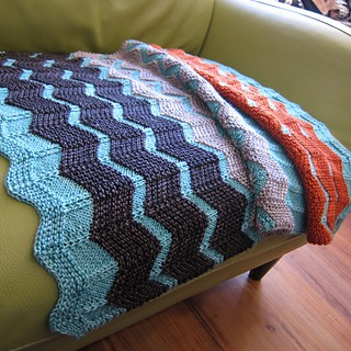 Chevron Baby Blanket Knitting Patterns | A Knitting Blog