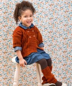 Knitting Patterns For American Girl Dolls-Leg Warmers