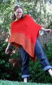 Free Knitted Poncho Pattern : Poncho Knitting Patterns A Knitting Blog