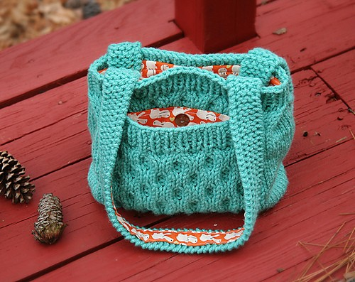 Knitting Bag Pattern : Knitted Purse Patterns A Knitting Blog