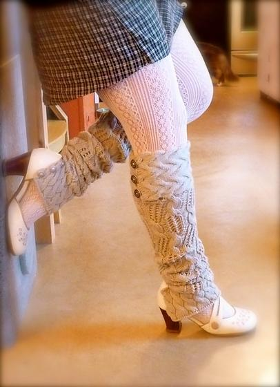Knitting Pattern For Thigh High Leg Warmers : Leg Warmer Knitting Patterns A Knitting Blog