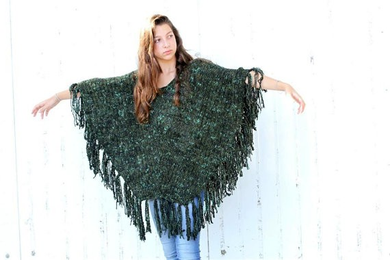 Knit Poncho Patterns : Poncho Knitting Patterns A Knitting Blog