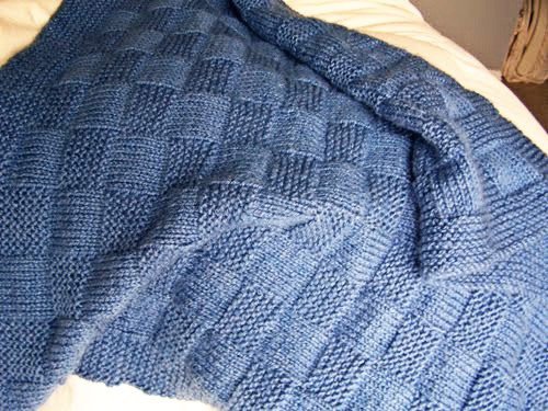 Simple Basket Weave Knitting Pattern : Basket weave knitting patterns a