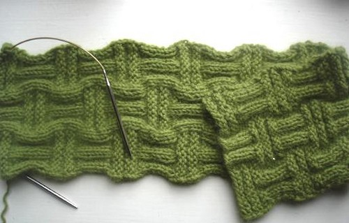 Free Knitting Pattern For Basket Weave Scarf : Basket Weave Knitting Patterns A Knitting Blog