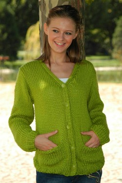 Free Knit Sweater Patterns For Beginners : Knit Cardigan Pattern A Knitting Blog