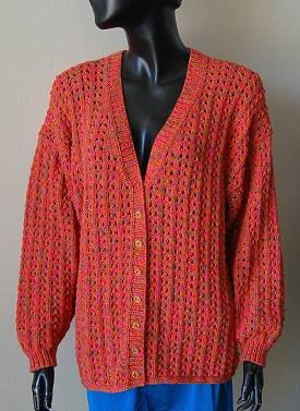Knitting Pattern For A Cardigan - Long Sweater Jacket