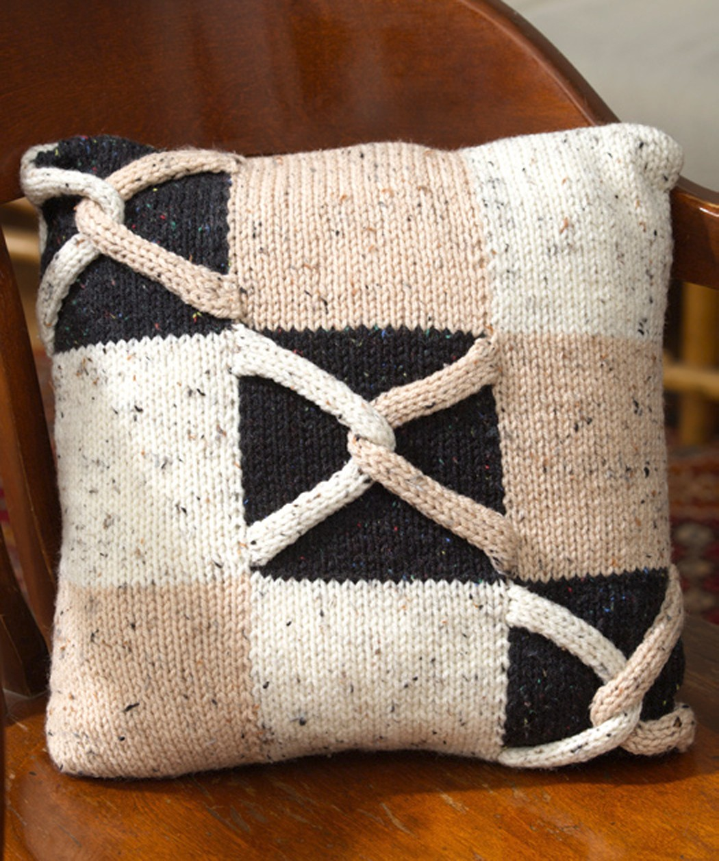 Free Knitted Pillow Patterns : Knitted Pillow Patterns A Knitting Blog