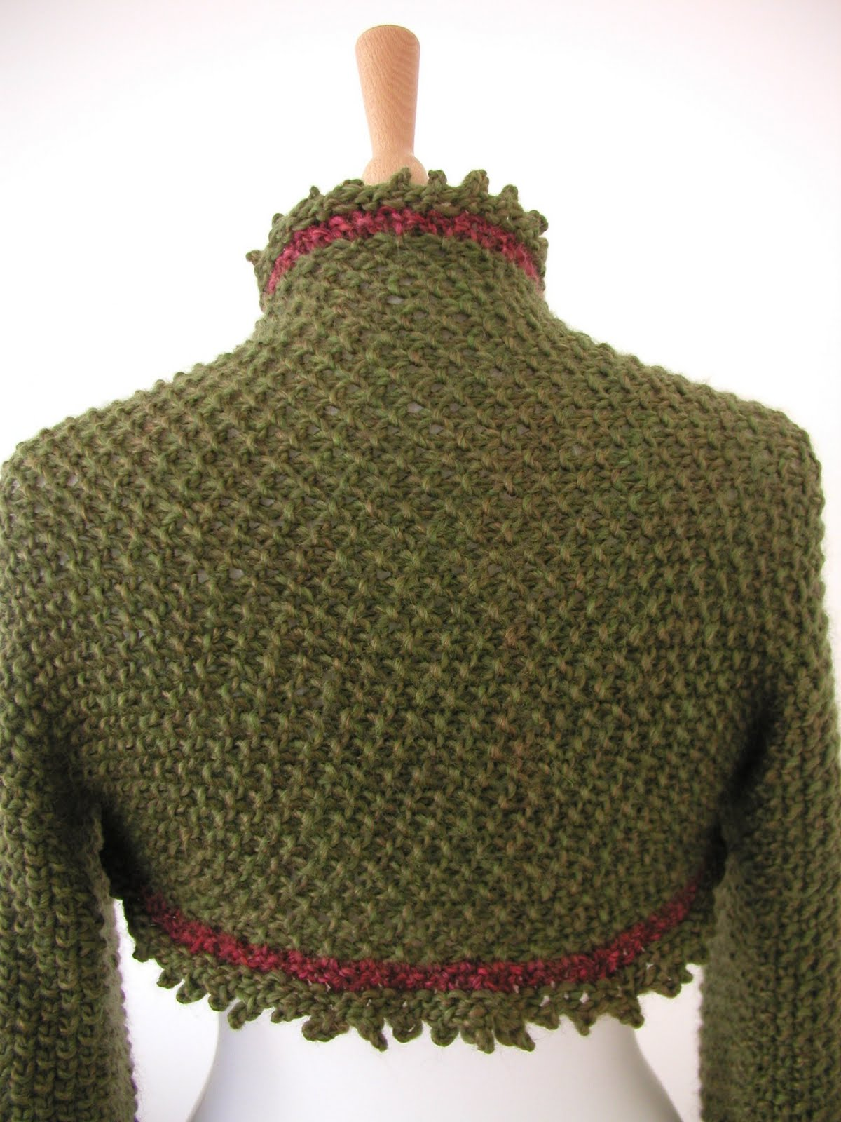 Free Knitting Patterns For Lace Bolero : Knit Shrug Pattern A Knitting Blog