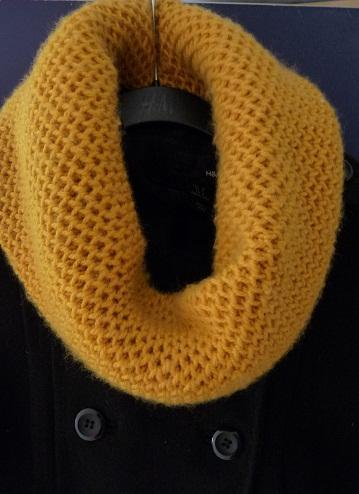 Knitting Patterns Scarves Cowls : KNIT COWL LACE PATTERN Easy Knit Patterns