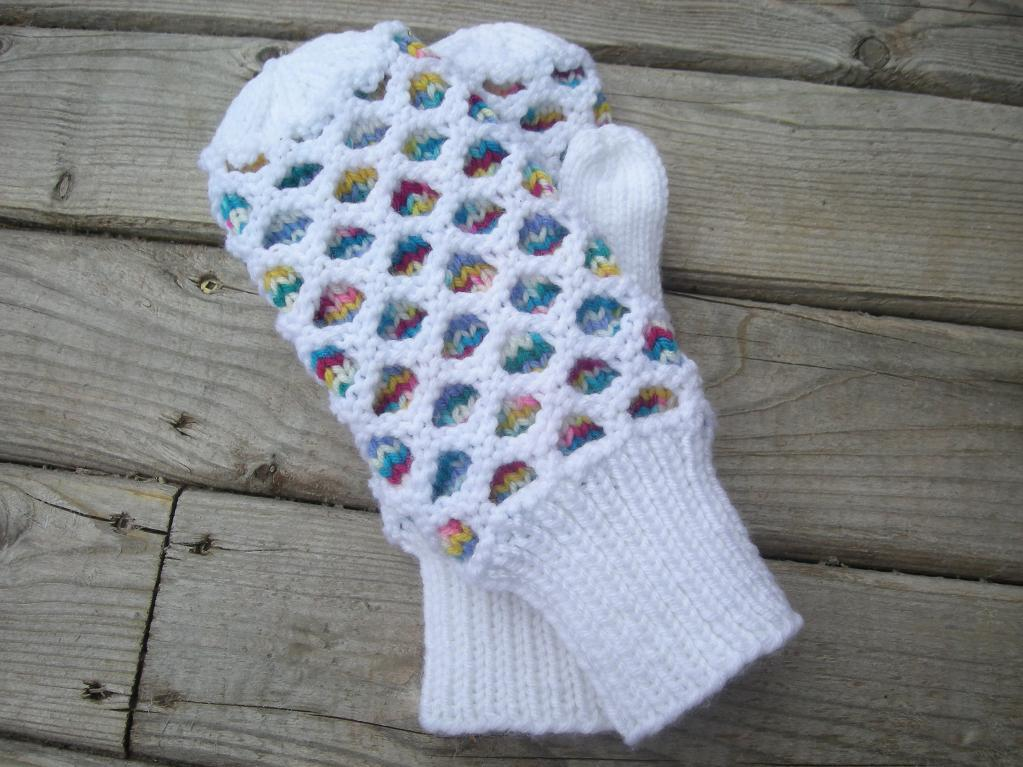 Knit Glove Pattern : Honeycomb Knitting Patterns A Knitting Blog