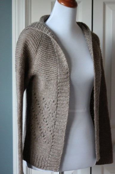 Knitting Patterns For Hooded Sweaters : Knit Cardigan Pattern A Knitting Blog
