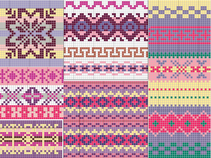 Fair Isle Knitting Patterns A Knitting Blog