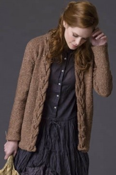 Women s Cardigan Knitting Patterns Free : WomenS Cardigan Knitting Patterns - Long Sweater Jacket