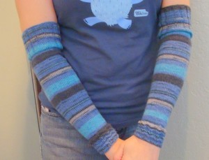 Pictures Arm Warmers Knitting Pattern Tutorial