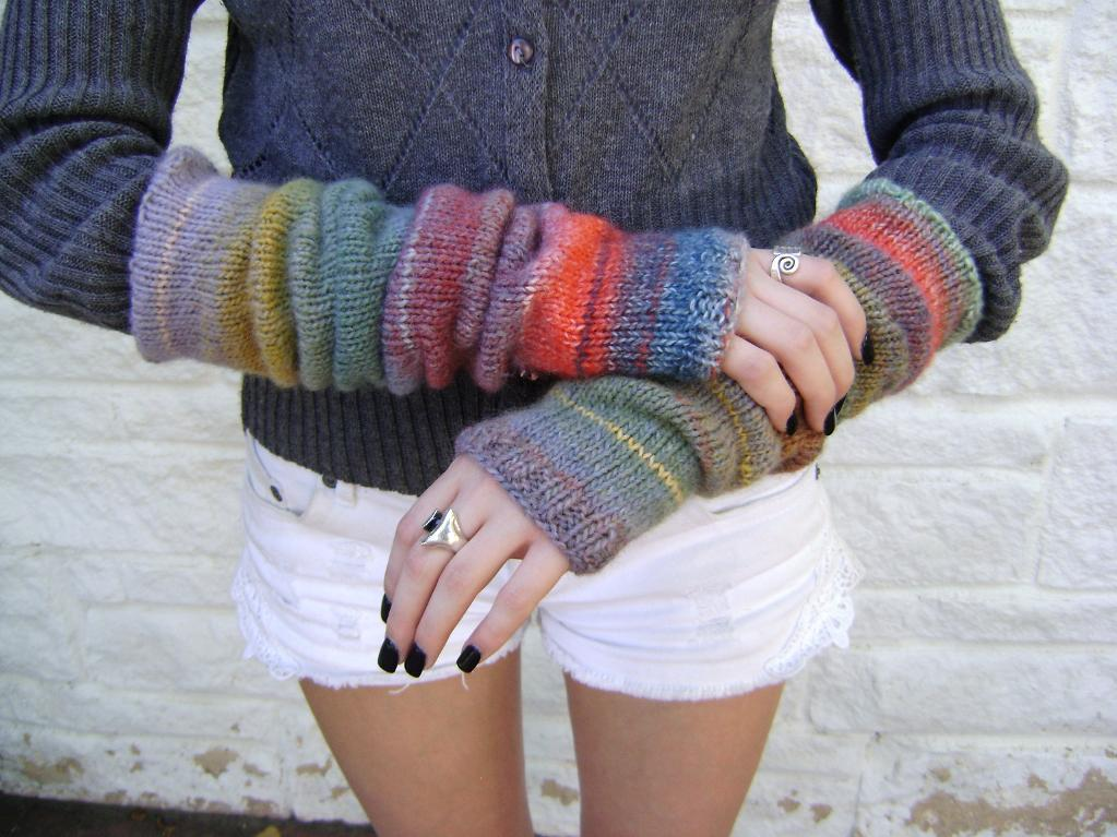 Arm Knitting Patterns : Arm Warmer Knitting Patterns A Knitting Blog
