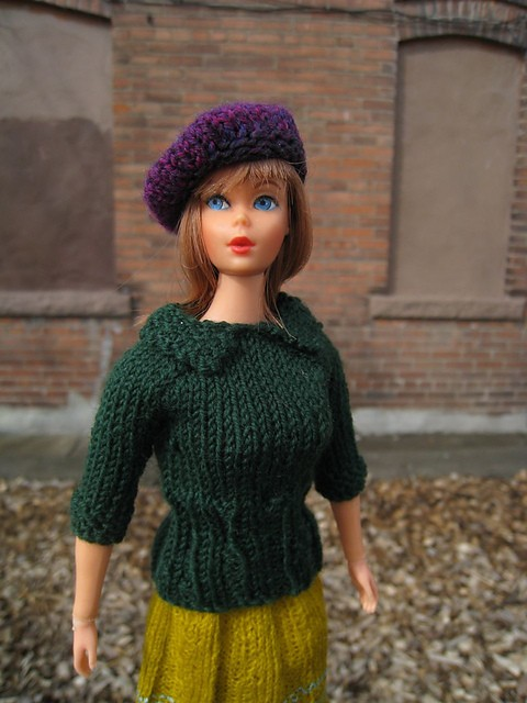 Knitting Pattern For Doll Sweater : Barbie Doll Knitting Patterns A Knitting Blog