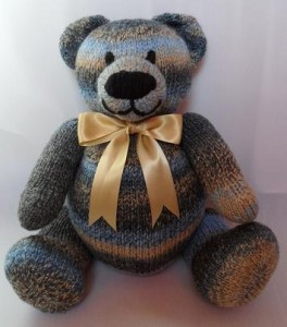 Pictures of Big Berry Teddy Bear Knitting Pattern