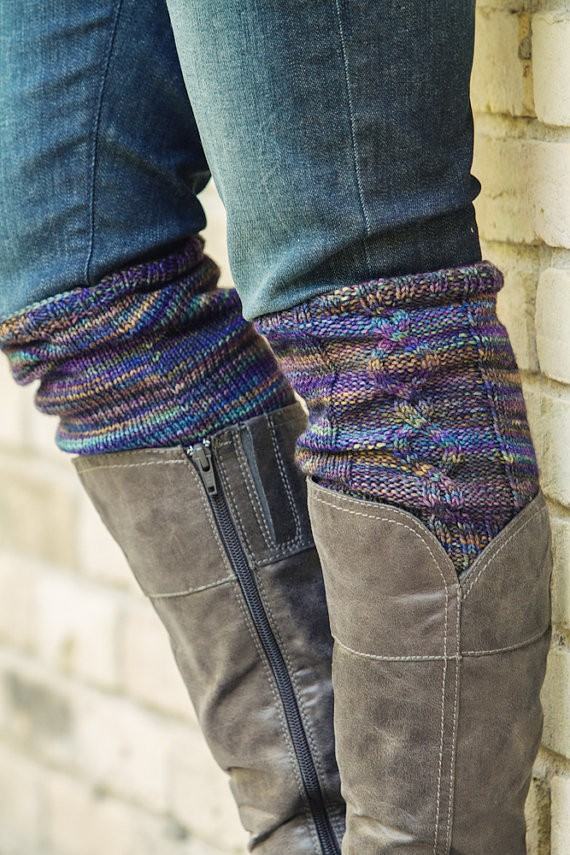 Knitting Pattern For Boot Cuffs : Boot Cuff Knitting Pattern A Knitting Blog