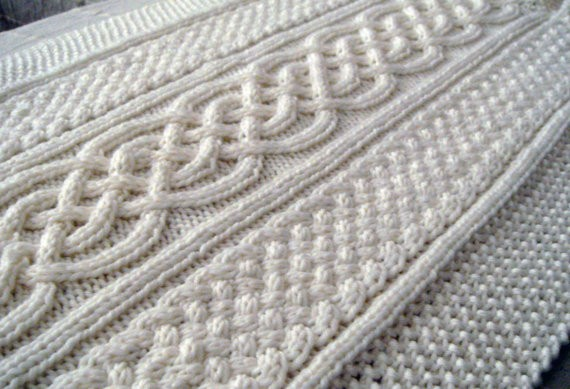 Knitting Pattern For Baby Blanket With Cable : Celtic Knitting Patterns A Knitting Blog