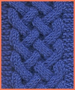 FREE CELTIC KNOT KNITTING PATTERNS - VERY SIMPLE FREE KNITTING PATTERNS
