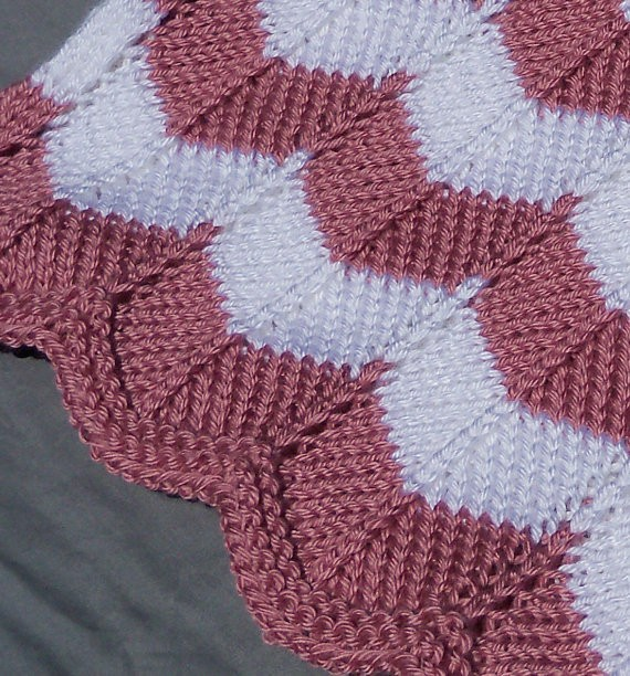 Knitting Pattern Quilt : Chevron Quilt Knitting Pattern A Knitting Blog