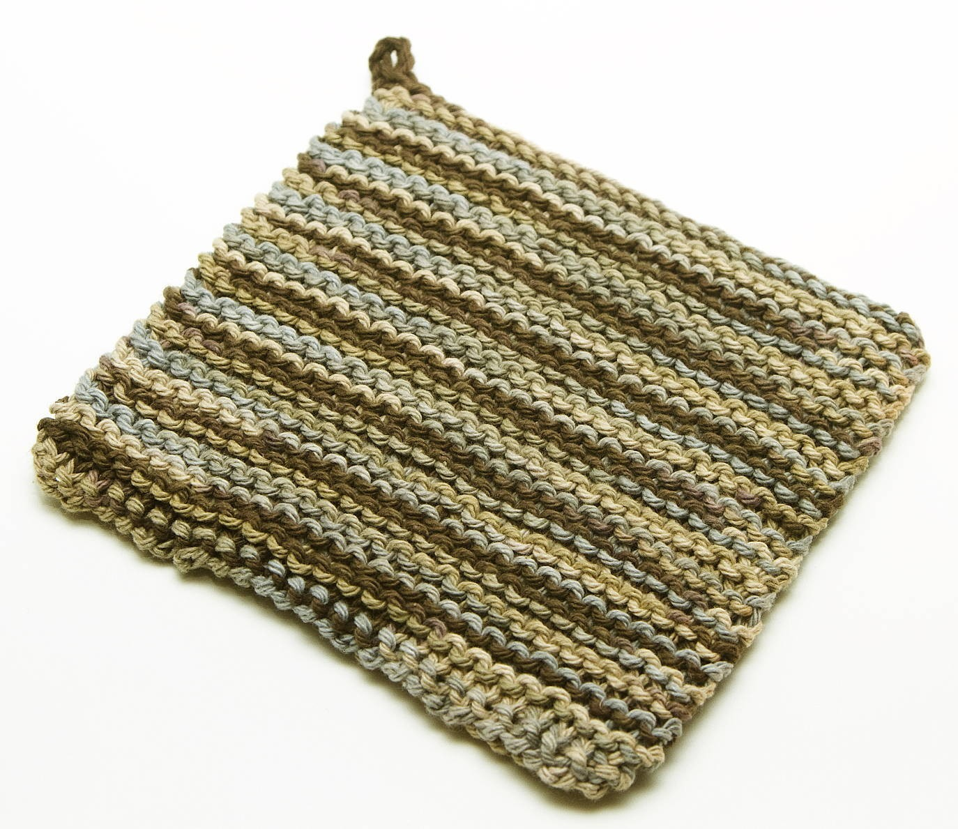Double Knit Patterns Free : Pot Holder Knitting Pattern A Knitting Blog