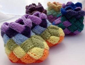 Free Entrelac Knitting Patterns : BABY ENTRELAC KNITTING New Knittng Patterns