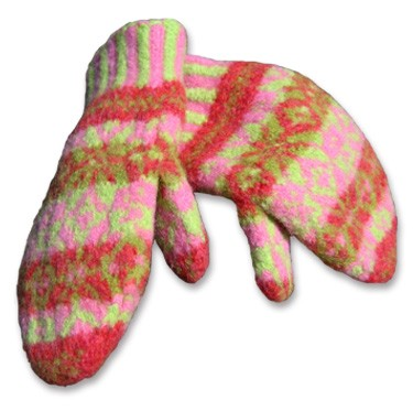 Knitting Mitten Pattern : Felted Knitting Patterns A Knitting Blog