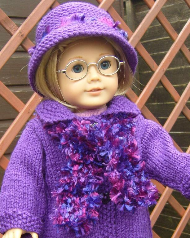 American Girl Doll Patterns Knitting Fleece Vest Jacket