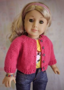 Free Cardigan Knitting Patterns for American Girl Dolls Pictures