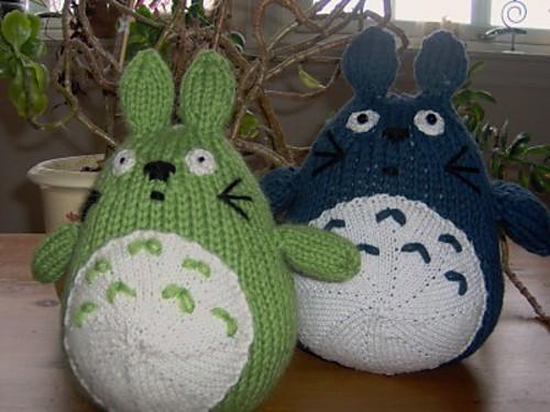 Knitting Pattern For Totoro Hat : Totoro Knitting Pattern A Knitting Blog