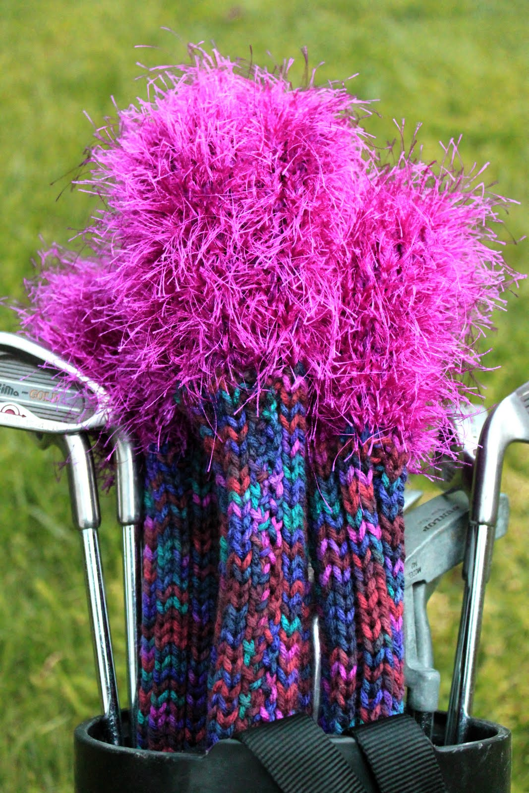 Knit Golf Head Covers Pattern A Knitting Blog