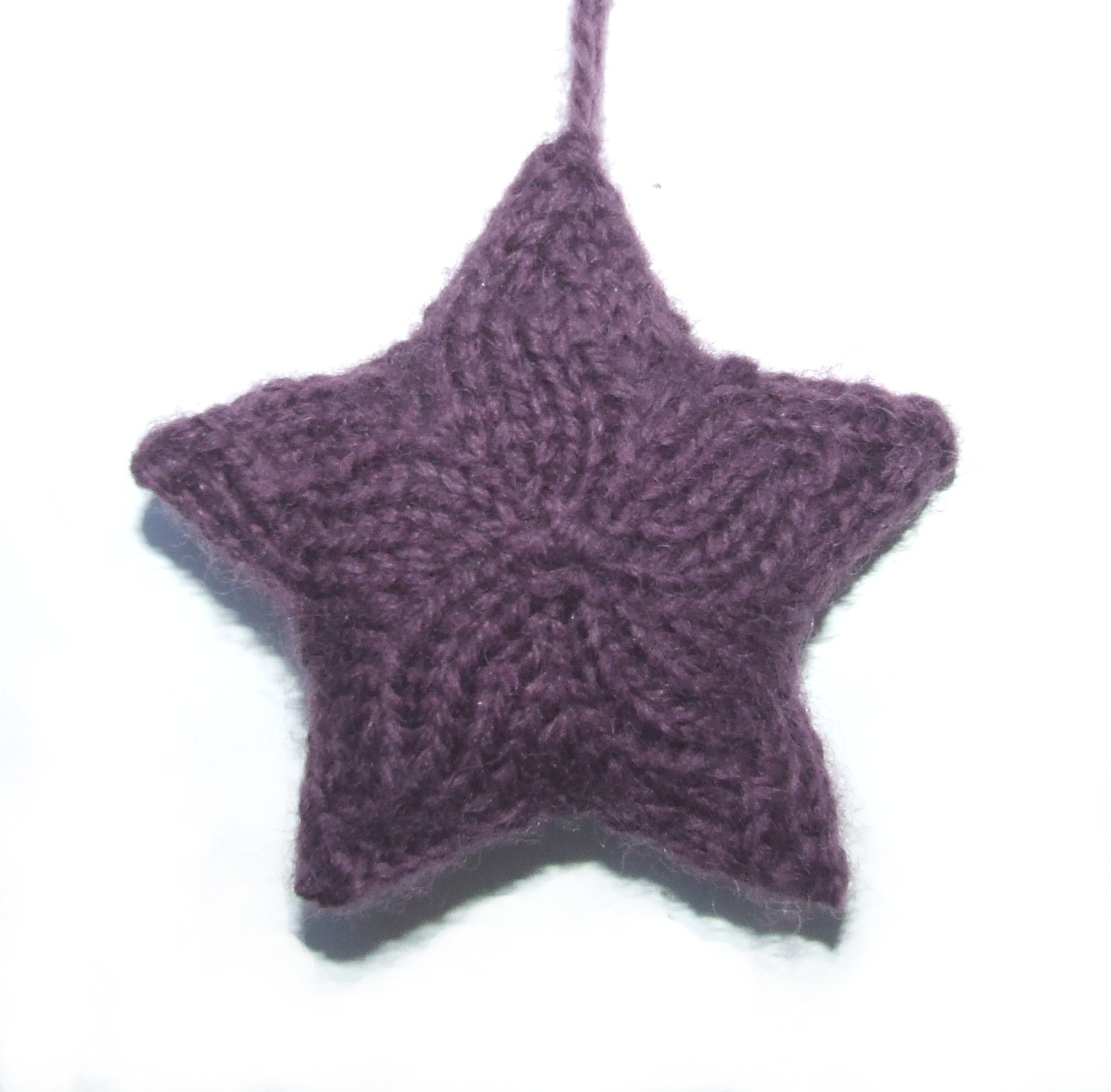 Knitting Pattern Christmas Star : Knit Star Patterns A Knitting Blog