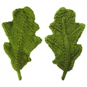 Knitted Leaf Patterns A Knitting Blog