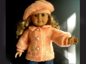 Knitting Pattern American Girl Doll Images