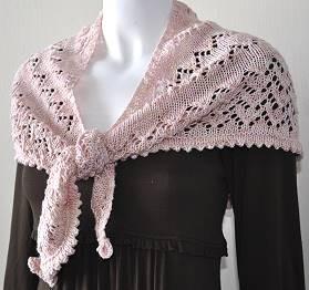 Free Knitted Shawlette Patterns : Shawlette Knitting Patterns A Knitting Blog