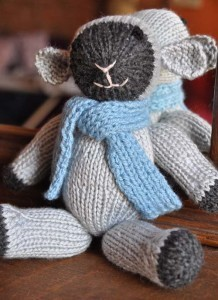 Mitten Lamb Animal Knitting Pattern Images