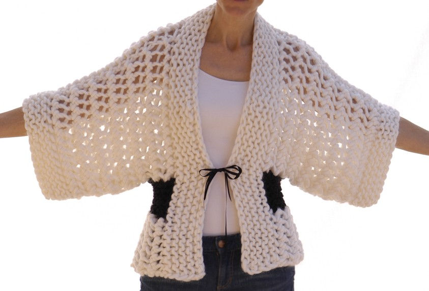 Free Crochet Patterns For Kimono Sweater : Knit Kimono Pattern A Knitting Blog