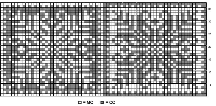 Knitting Chart Patterns Free : Snowflake Knitting Pattern A Knitting Blog