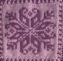Snowflake Square Knitting Pattern Pictures