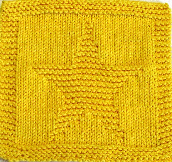 Star Baby Blanket Knitting Pattern : Knit Star Patterns A Knitting Blog