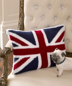 Knitting Pattern Union Jack Cushion Cover : Union Jack Knitting Pattern A Knitting Blog