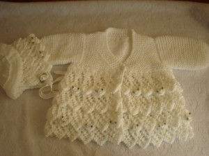 Baby Clothes Knitting Pattern Image