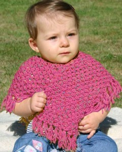 Baby Poncho Knitting Patterns Pictures