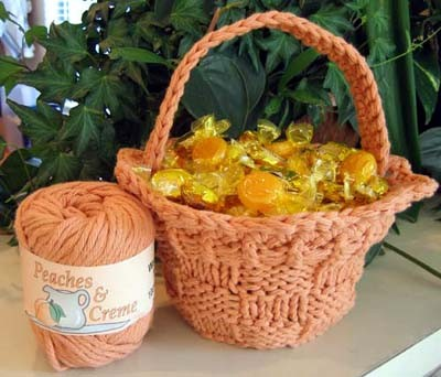 Letter Knitting Patterns : Knitted Basket Patterns A Knitting Blog